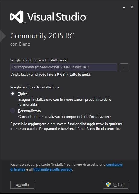 how to download visual studio 2015